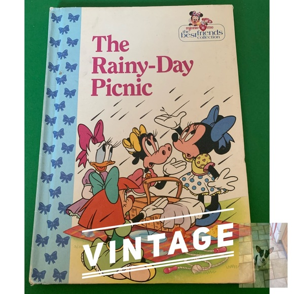 Vintage Disney's The Rainy-Day Picnic book